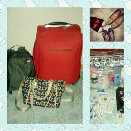 All our bags are packed we're ready to go! Travel GBOT