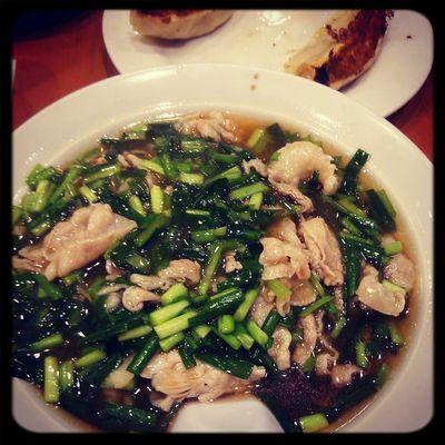 Dinner ニラ麺