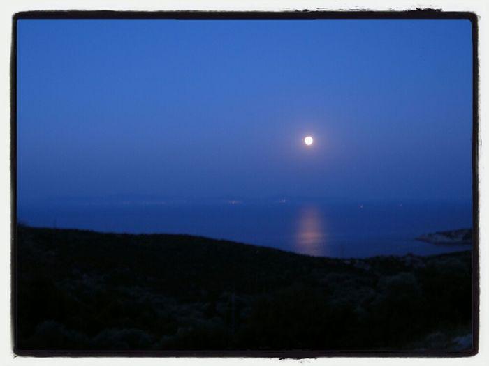 Moon Moon Rising Turkey Blue Moon Beautiful Moon