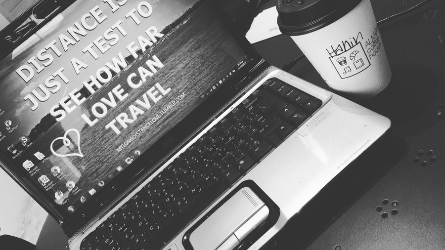Distance is jus a test to see how far love can travel 💙 We Need More Song Lifestyles Black And White Photography Addicted To Coffee Coffe This Is Masculinity EyeEmNewHere EyeEmNewHere EyeEmNewHere
