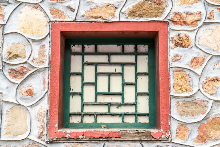 The ancient window Ancient Architecture Construction Wall Ancient Times Architecture Building Building Exterior Built Structure Day Food In The Past No People Old Outdoors Sandstone Stone Stones Structure The Window The Window Sash Window Window Frame