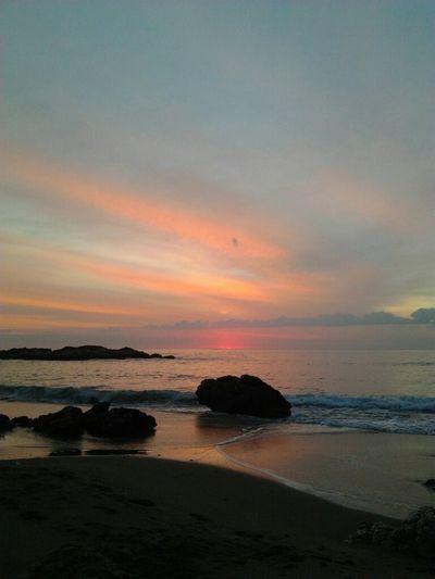 Sea Sunrise Albada Catalan Beach