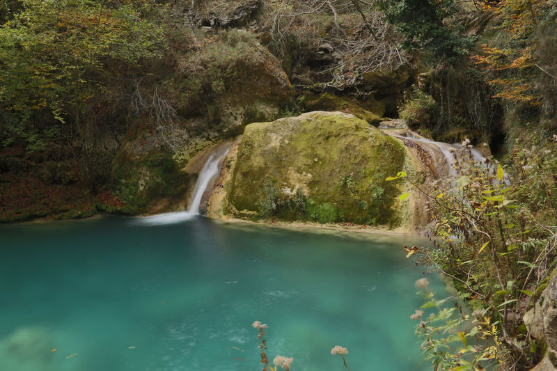 Nature Nature Photography Navarre Beauty In Nature Forest Navarra Paradise River Tranquil Scene Turquoise Water Urbasa Urederra Water Waterfall