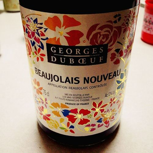 Wine ワイン ボジョレーヌーボー Beaujolaisnouveau