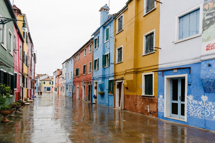 Venice Venice, Italy Architecture Building Exterior Built Structure Building Residential District Window Water City Wet No People Rain Nature Sky Day Reflection Outdoors Street Flood Rainy Season Alley