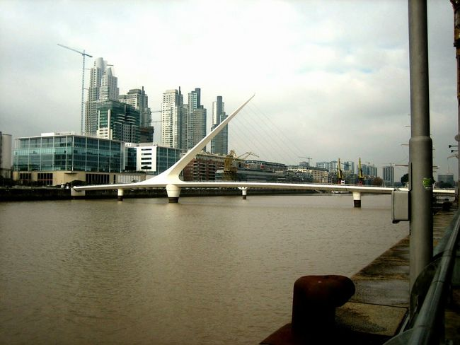 City Skyscraper Bridge - Man Made Structure Architecture Sky Travel Destinations Cloud - Sky Outdoors Built Structure Cityscape Modern No People Downtown District Urban Skyline Illuminated Night Business Finance And Industry Fog Puerto Madero Buenos Aires, Argentina  Argentina Buenos Aires Southamerica Puentedelamujer Travelphotography