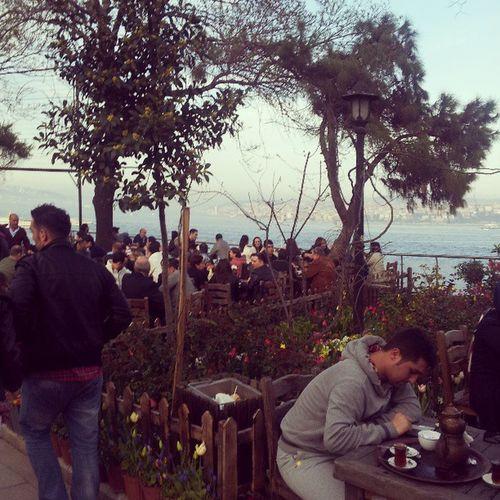 Кафе с видом на Босфор сafe Tea View Beauty people bosphorus прекрасныйвид