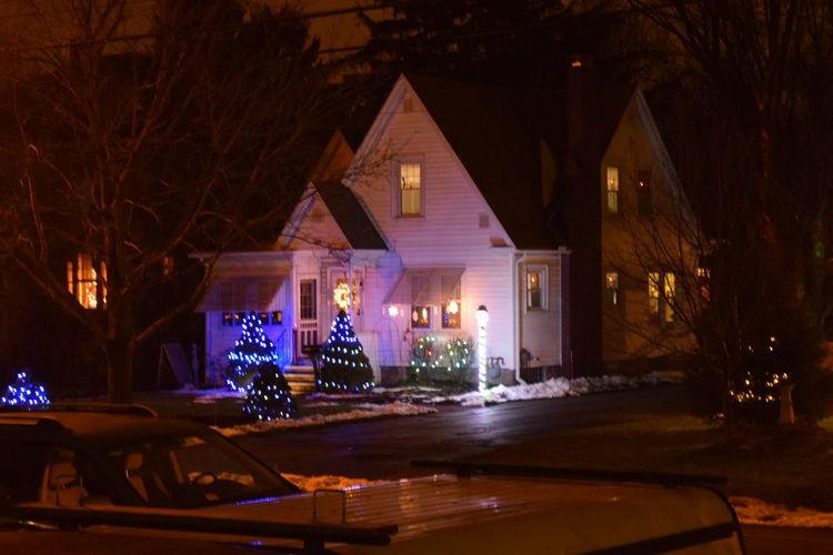 Christmas Holidays ☀ Lights Christmas Decorations Christmas Ornament christmas tree Christmastime House Indoors  No People