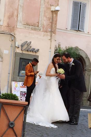 ✨Lovely couple 💖✨Italy Wedding Life Events Bride Bridegroom Wedding Dress Adults Only Men Full Length Love Place Of Worship Celebration Togetherness Two People Husband People Wedding Ceremony Adult Outdoors Bouquet Day Snap Everywhere Celebration Love Snapshots Of Life