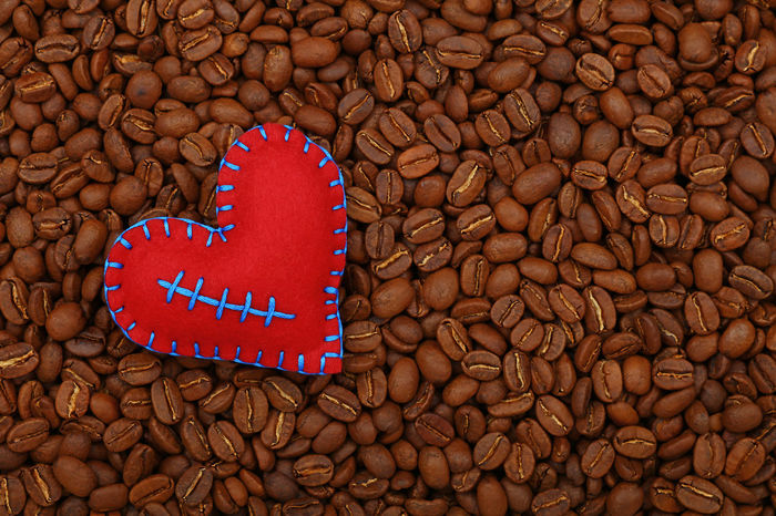 Red heart on roasted Arabica coffee beans background Arabica Arabica Coffee Backgrounds Close-up Coffee Coffee - Drink Coffee Beans Coffee Lover Coffee Shop Coffee Time Coffee ☕ Day Food Food And Drink Freshness Healthy Eating Heart Large Group Of Objects Morning Nature No People Red Roasted Robusta Studio Shot