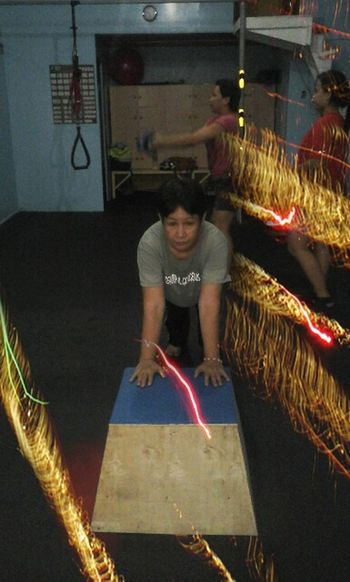 """On the move! At """"One Movement """" fitness center ! That's Me"""