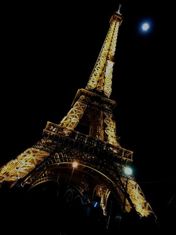 Paris Beautiful Eiffeltower Lights Silvester Neujahr Illuminated Celebration Christmas Christmas Decoration Indoors