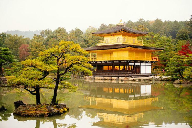 Kinkakuji Temple Kyoto Japan Hanging OutHello World
