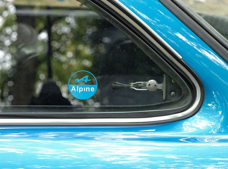 A detail of a Renault Alpine that I shot a few years ago. Car Renault Alpine