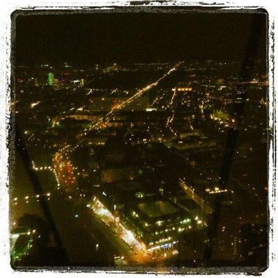 Memories Two Weeks Ago me my love Berlin by night Unter den Linden from Fernsehturm TVtower amazing missit loveit adoreit