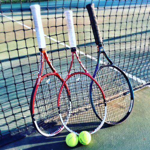 Tennis Court Tennisball Racket Racquet Tennis 🎾