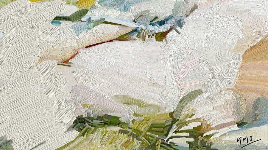 La Terre d'émeraude Ailes D'émeraudes Oil Painting Elegance Everywhere Art