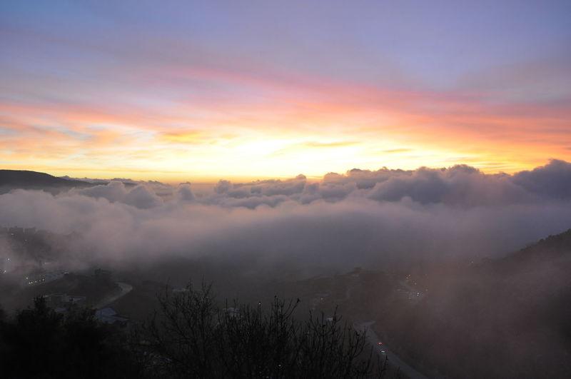 Beautiful Sunset Clouds Skyporn