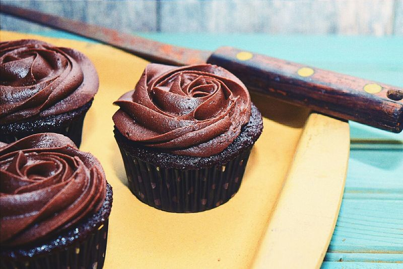 EyeEm Best Shots Speed Light Photography Indoor Photography Food Chocolate Food Porn Kitchen Utensils Baking Kitchen Art Cupcakes Chocolate Buttercream