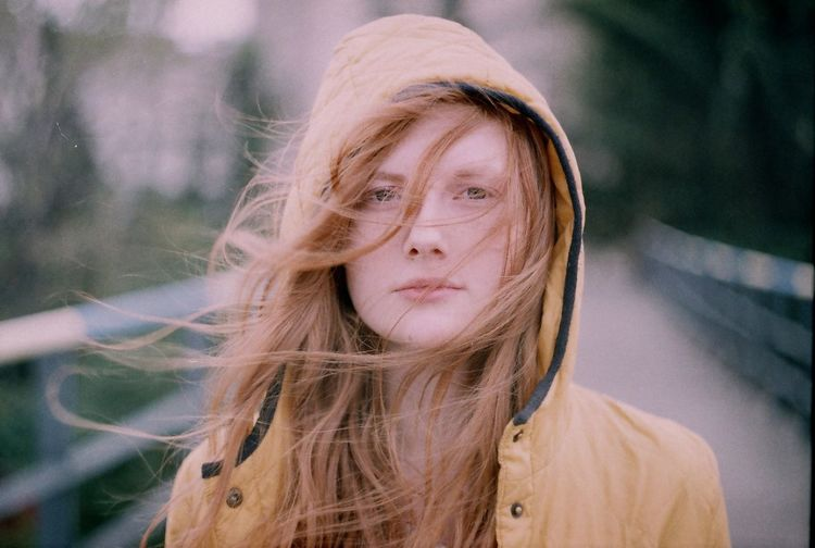 https://www.instagram.com/mariamberodze/ People Real People Portrait Day Film Outdoors Beautiful Woman Breathing Space Film Photography Long Hair Ginger Close-up Front View Filmisnotdead Looking At Camera Young Adult One Person Young Women Focus On Foreground Fresh On Market 2017 EyeEm Selects Stories From The City The Portraitist - 2018 EyeEm Awards This Is Natural Beauty