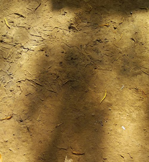 Footsteps Mark On The Way Light Shadow Color Outdoors Ground Texture Texture Ground Mud Terrain Mud Texture