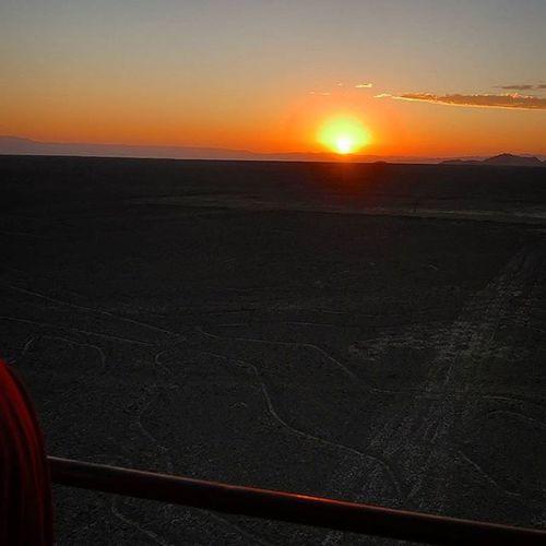 Nazca lines Peru Nazca Nazcalines Sunset Landscape Landscape_lovers Desert Pretty Jgc