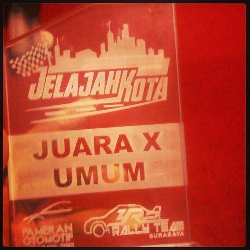 Alhamdulilahh...not bad :) great job Rallye2001 Timerally Jelajahkota