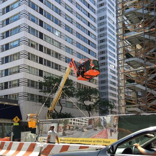 Will the Second Avenue Subway ever be completed? NYC Architecture Billboard Building City City Life Construction Site Crane - Construction Machinery Day Man Man Driving Man Walking Manhattan Modern NYC Orange Color Outdoors Secondavenuesubway Streetphotography Walking
