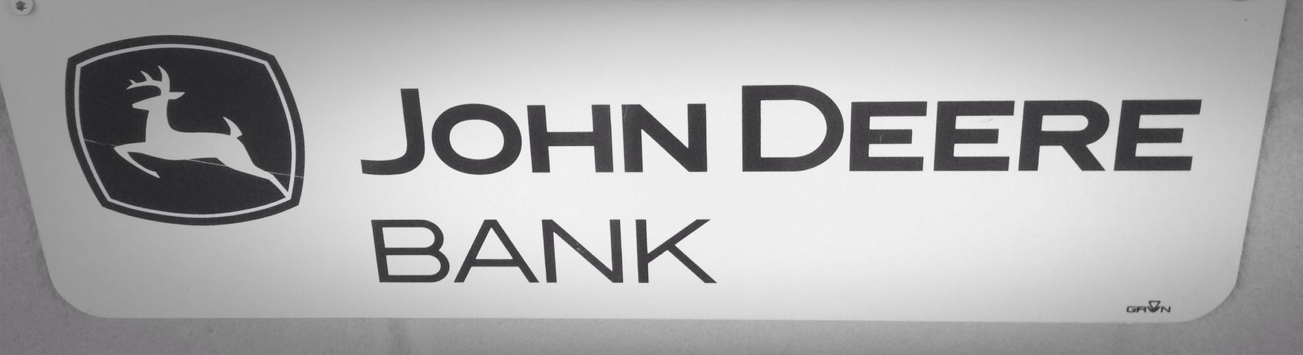 I think I know where @ntone keeps his money... ;-) John Deere Bank