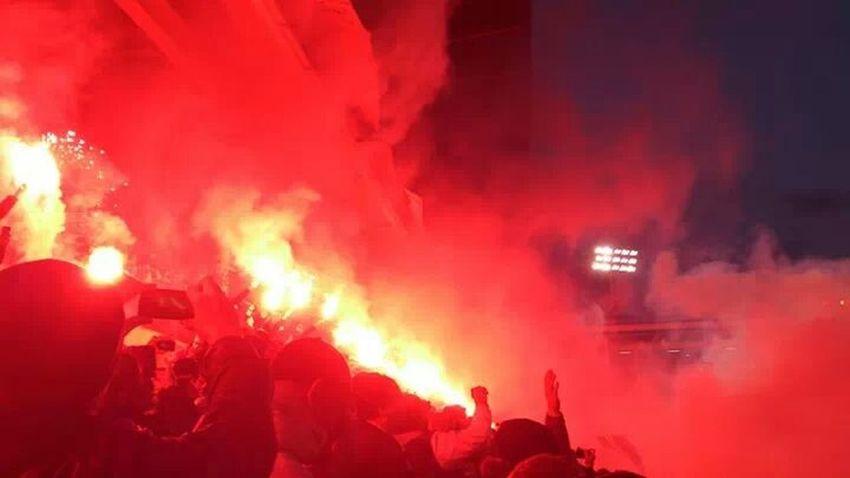 Football Fans Derby Passion AIK AIK-DIF friendsarena Stockholm Sweden