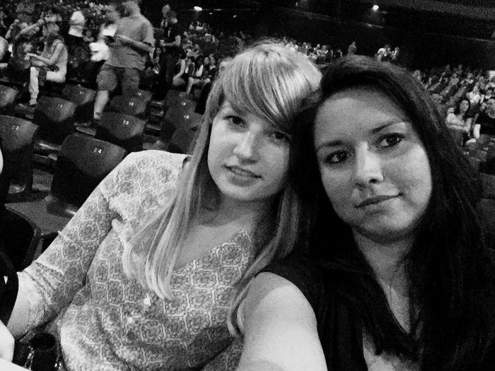 Friends Blackandwhite Hanging Out With Friends Concert Ariana Grande