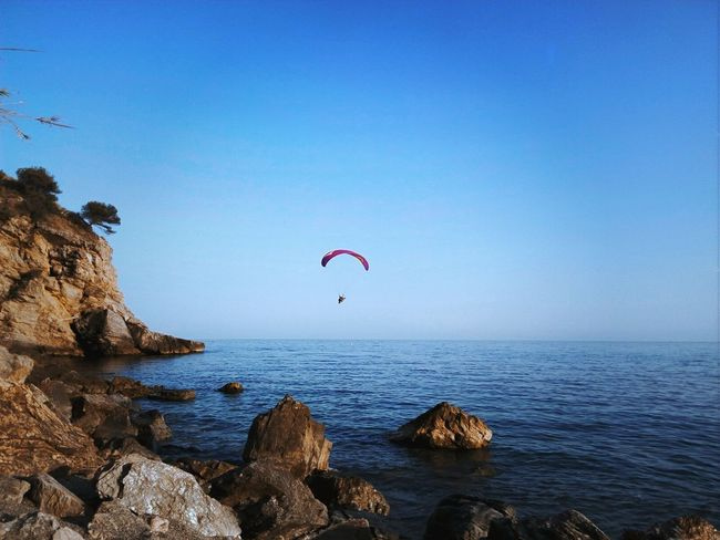 Flying High Fly Ocean Sea Sun Stones Sand Mediterraneo Maro Nerja Love