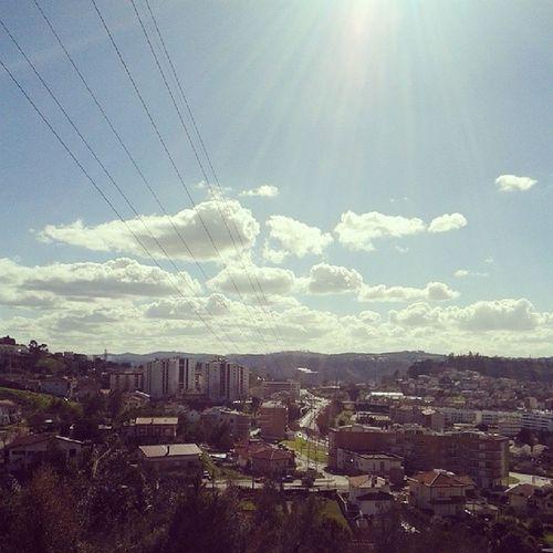 Sol de Inverno Eu sabia que voltavas, que bem que sabe!! Winter Sun Coimbra Solum viewfromhome