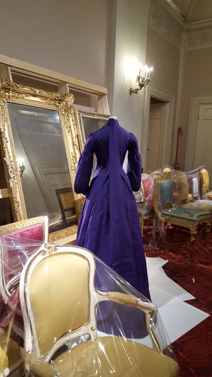 Haute Couture Dress Palazzo Pitti Exhibition Museum Firenze Florence Mise En Scene Indoors  No People Mirror Chairs Italia Italy The Week On EyeEm Fashion Photography Fashion Fashion Stories The Fashion Photographer - 2018 EyeEm Awards