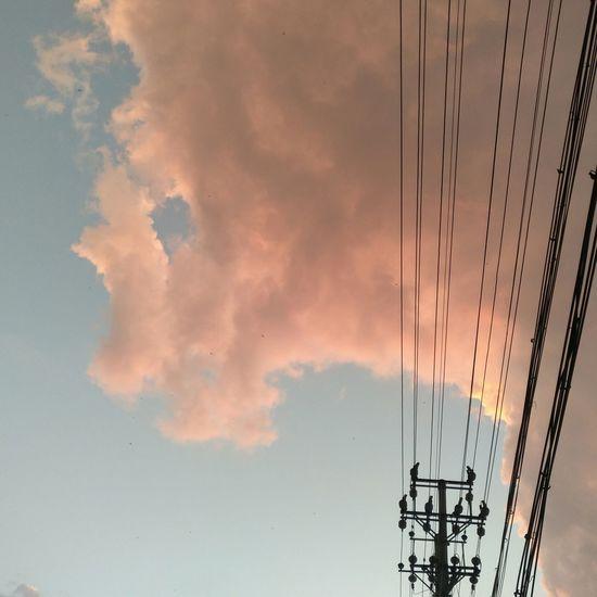 Outdoor Cloud. 云