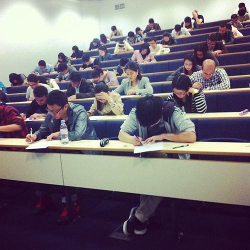 University College Students Exams Study