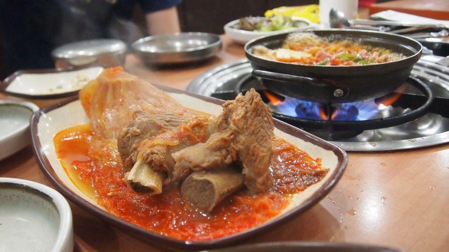Busan Food Food And Drink Hot Food Indoors  Kimchi Korea Korean Korean Food Meat No People Ready-to-eat Spicy Food Tasty Tasty Dishes
