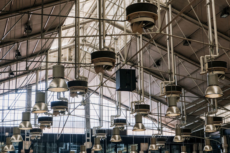 Market Portugal Travel Architecture Building Exterior Built Structure Ceiling City Construction Industry Day Factory Glass - Material Industry Lisbon Low Angle View Metal Modern No People Outdoors Travel Destinations
