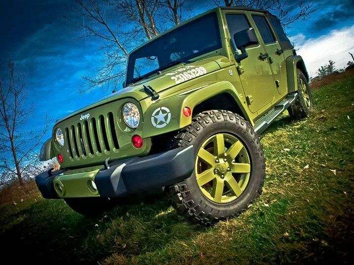 I Will Drive You Home! Jeep Green Photography
