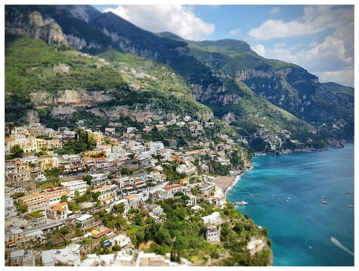 Italy Italian Coastline Italian Coastal Town