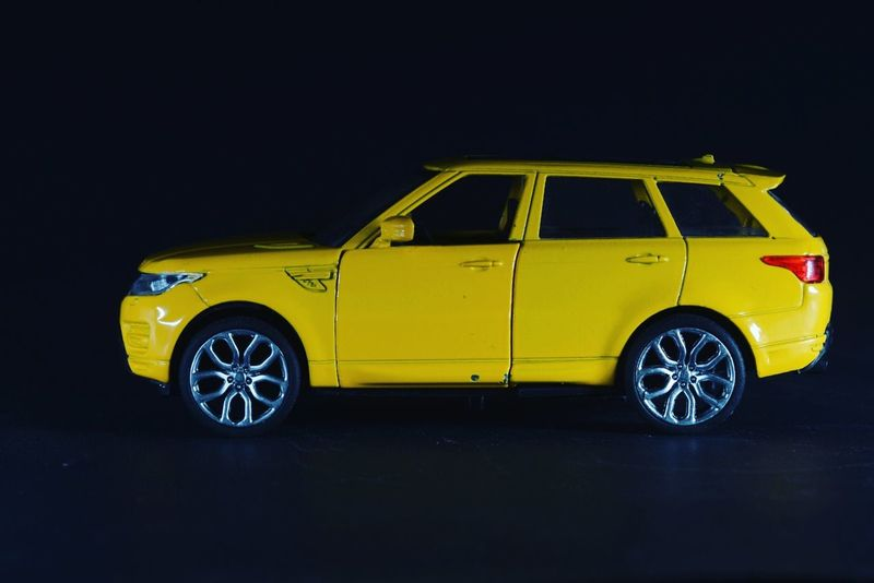 Car Night Yellow Transportation Shape No People Black Background Motorsport Jeep Jeep Cherokee Jeep Life JEEP Grand Cherokee Toy MiniStudio Nikon Studio Shot D7100photography D7100