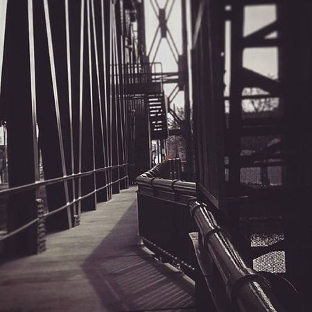 Walk along the river..Cuyahoga Bridge Blackandwhite B Fotografia Follow Instalike Instagram Officeinterior Photos Picture Walking Sidewalk Architecture Photographer Foto Fotorus Instagrampic Instagramhub Print Cleveland Ohio Gallery Gallerywall Memories