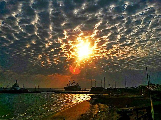 Pemba Sunset #sun #clouds #skylovers #sky #nature Beautifulinnature Naturalbeauty Photography Landscape [a:53920] Moçambique One Plus Two Mozambique Colour Of Life Harbour View Sunset