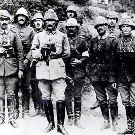 Çanakkale Zaferi'nin 100.yılında Ulu önder Mustafa Kemal ve silah arkadaşlarını rahmetle anıyoruz... çanakkalegeçilmez