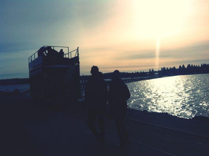 The Illusionist - 2014 EyeEm Awards Couple Sunset Sparkle