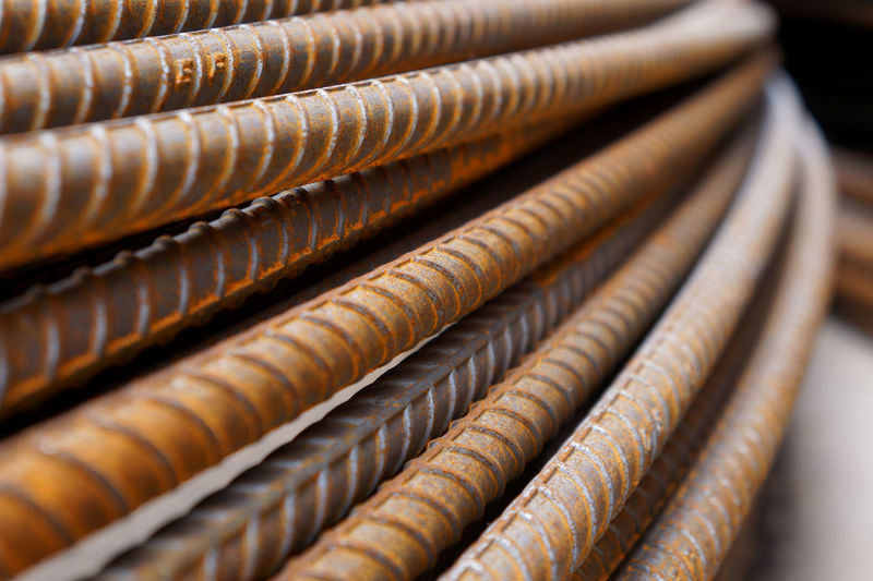 Large Group Of Objects No People In A Row Close-up Selective Focus Brown Abundance Pattern Focus On Foreground Rusty Day Order Stack Metal Outdoors Steels Steel Cable Rusty Metal Rustic Style Background Textured