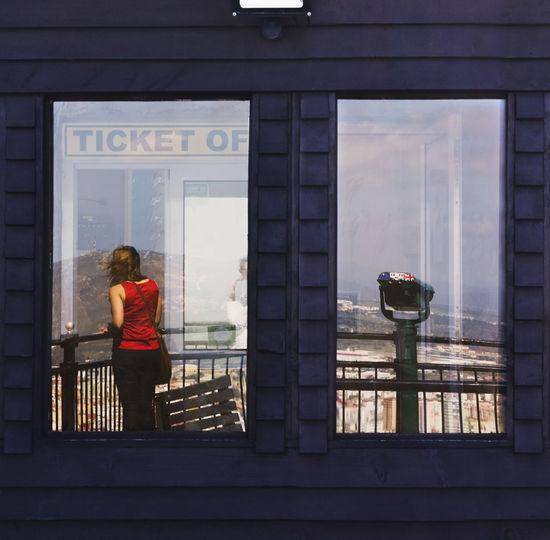 Ticket office.