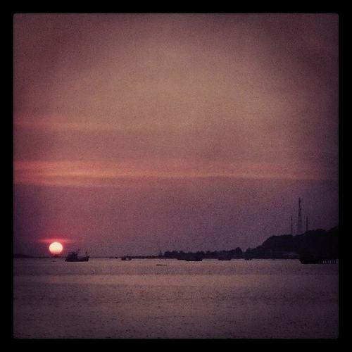 Sun Godown Sunset Sea sattahip chonburi sattahip thailand
