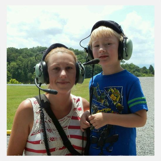 Our 1st helicopter ride! Perfekt Day!!
