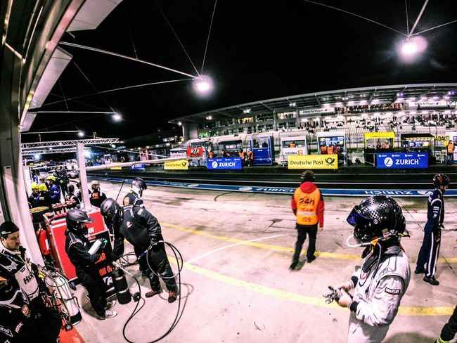 Nightphotography Nurburgring Rtr  Racing Race Boxenstop 24h 24h Race Race Day
